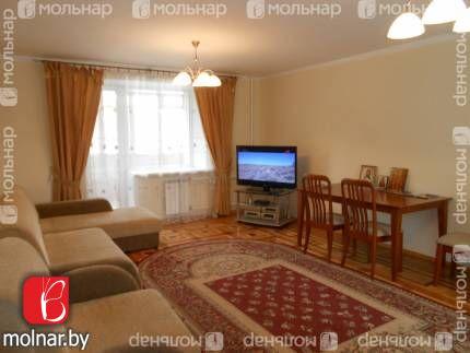 Продаётся отличная четырехкомнатная квартира в центре столицы. пр.Победителей,53 корп.1