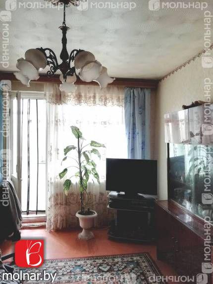 В продаже большая двухкомнатная квартира в г.Гродно.  ул.Домбровского,43