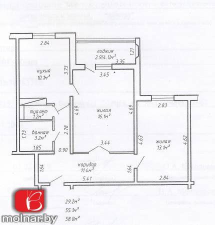 Купить 2-комнатную квартиру рядом с метро