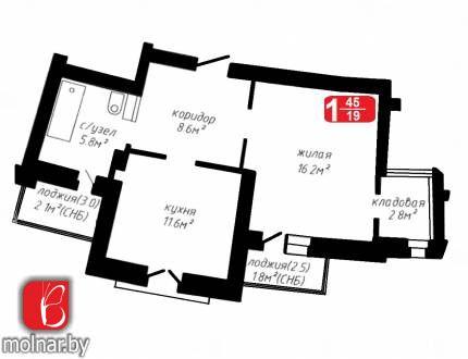 , 78  Продаётся квартира с хорошим ремонтом, мебелью и техникой по цене новостройки без отделки!  С интересной планировкой и современным дизайном, сделана как евродвушка