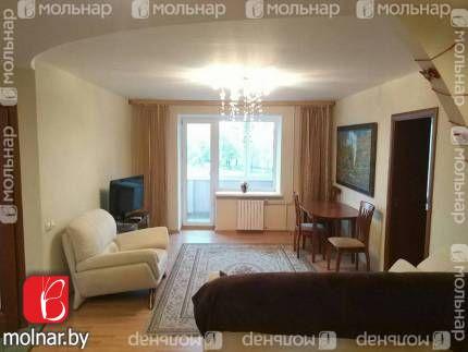 Продаётся трёхкомнатная квартира в самом центре столицы. ул.Сторожевская,8