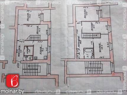 , 29  Есть возможность из одной квартиры сделать две полноценных двухкомнатных квартиры на разных этажах