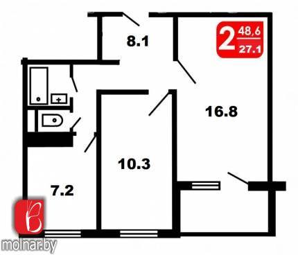Купить квартиру - Рокоссовского  49