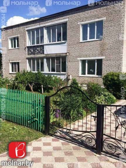 Продается 3-х комнатная  квартира в а.г.Березинское ул.Садовая,17