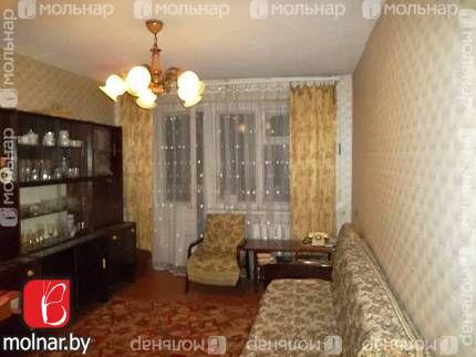 Продаётся 3-х комнатная квартира брежневской планировки с отдельными комнатами. г.Гродно ул.Соломовой,42