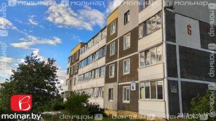 Продается просторная четырехкомнатная  квартира а/г Озерцо