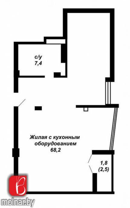 купить квартиру на Мстиславца Петра ул, 20