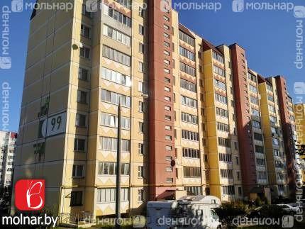 , 99  Продается однокомнатная квартира с большой кухней  в современном доме рядом с метро