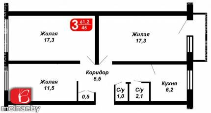 купить квартиру на Сердича ул. ,70