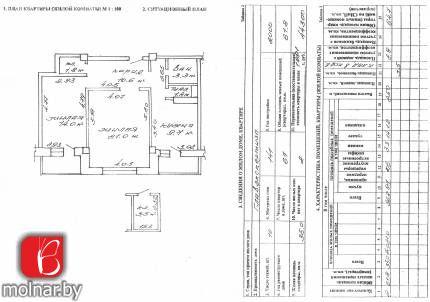 , 15  Продажа 2-комнатной просторной квартиры в центре города в престижном доме по улице Я