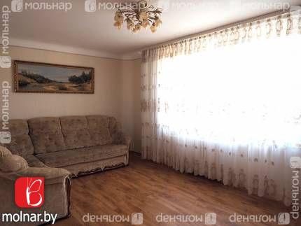 Продается четырехкомнатная квартира в Боровлянах, п.Лесной