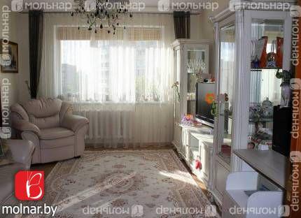 Продаётся трёхкомнатная квартира в живописном м/р-не Веснянка. ул.Украинки,4 корп.1