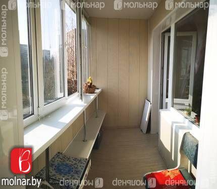 1-комнатная квартира с двойной лоджией возле метро