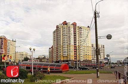 Продаётся квартира в новостройке. ул. Е.Полоцкой,3