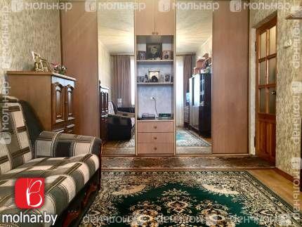 Однокомнатная квартира по улице Плеханова, д.121 в центре микрорайона Серебрянка