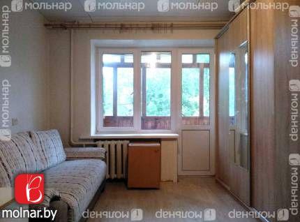 Продаётся однокомнатная квартира в кирпичном доме. ул.Кабушкина,76