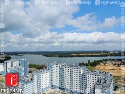 Лебяжий. Квартира на высоком этаже. Вид из окон. Улица Мястровская, 24