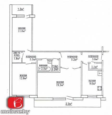 купить квартиру на Советских Пограничников  ул, 116