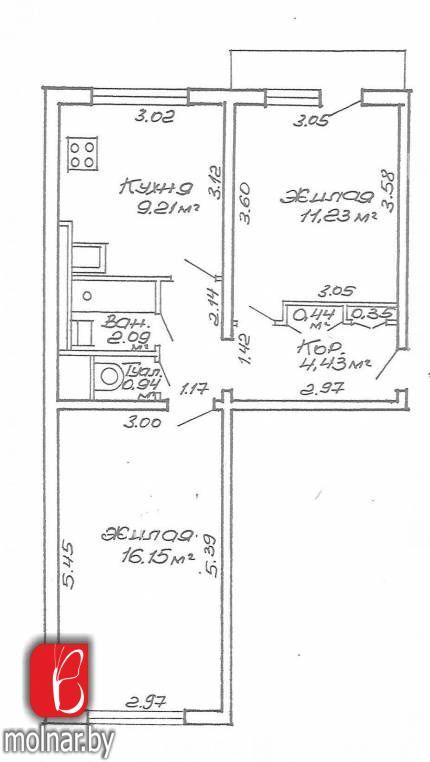 Продается 2-комнатная квартира по ул.Лынькова,85