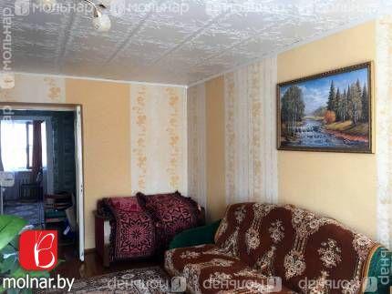 квартира 2 комнаты по адресу Молодечно, Офицерская ул