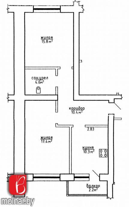 , 2  Продаётся большая, светлая квартира продается в коттеджной застройке в экологически чистом районе столицы