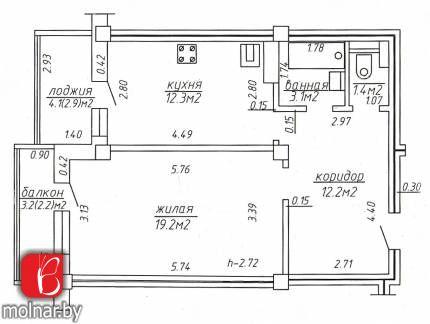 Продажа 1 комнатной квартиры по ул.Матусевича,72