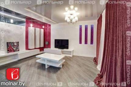 Продаётся элитная квартира с дизайнерским ремонтом.  ул.Богдановича,136