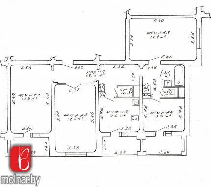 Продается 4-комнатная квартира по ул.Есенина