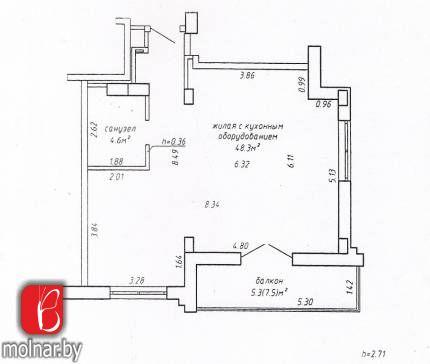 Отличная 1 комнатная квартира в современном доме комплекса «Маяк Минска»