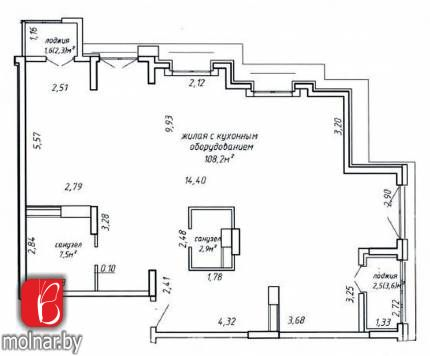 квартира 4 комнаты по адресу Минск, Туровского ул