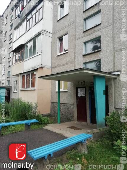 В продаже  двухкомнатная квартира в г.Гродно на ул.Домбровского,27