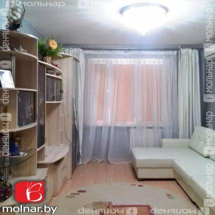 Продаётся 1 комнатная квартира с отличным  ремонтом в г. Заславле. ул.Микрорайон-2,29б