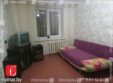 Продается уютная 2-х комнатная квартира в г.Смолевичи. ул.Советская,162