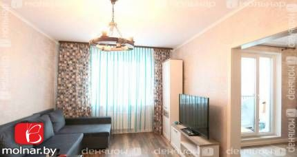 Продаём 2-х комнатную квартиру с ремонтом в новом доме. п.Копище ул.Микояна,1