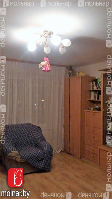 Продается 1-комнатная квартира. Площадь 34/19.1/6.9