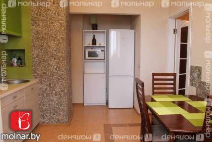Обустроенная 1-комнатная квартира с ремонтом в Лошице. ул.Сырокомли,38