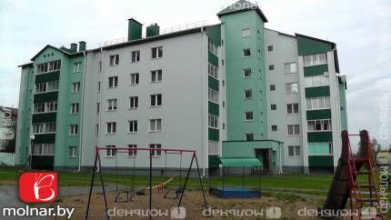 Продаётся двухкомнатная квартира новостройка с ремонтом. д.Ельница (Стайки)  ул.Спортивная,85