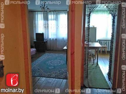 Продаётся двухкомнатная квартира  в д.Правые Мосты