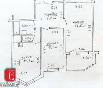 Продается 2-комнатная квартира с отличным ремонтом в новостройке