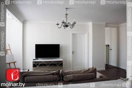 Продаём 2-х комнатную  квартиру с дизайнерским ремонтом! ул.Ложинская,16