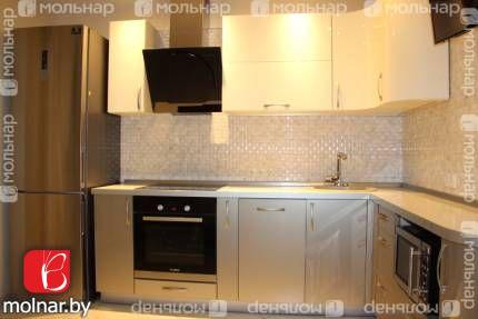 Современная 3-комнатная квартира с отличным ремонтом в кирпичном доме 2013 г. по ул. Притыцкого 105