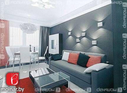 Продается 3-ёх комнатная квартира с видом на Национальную Библиотеку. пр.Независимости,133