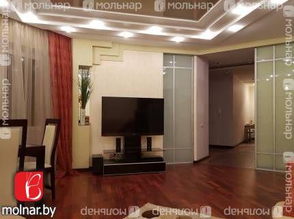 , 91  Продаётся просторная современная 3-х комнатная квартира с мебелью и техникой