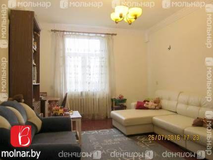 , 8  Продаётся 3-комнатная квартира в тихом историческом центре столицы с панорамным видом из окон на набережную реки Свислочь