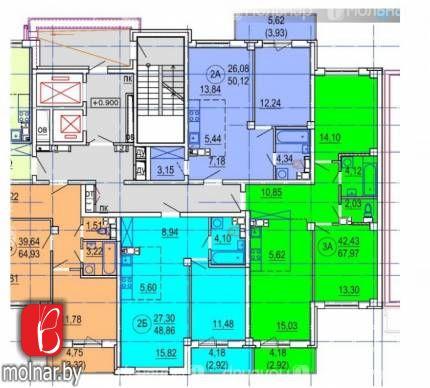 Продаются квартиры в строящемся доме Дзержинского 11