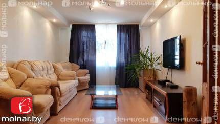 Трёхкомнатная квартира с ремонтом на улице Бельского,61