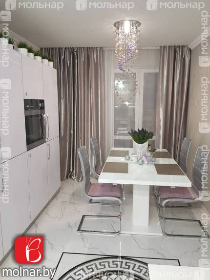 Продаётся 2-комнатная квартира возле метро Восток. ул.Мстиславца,22