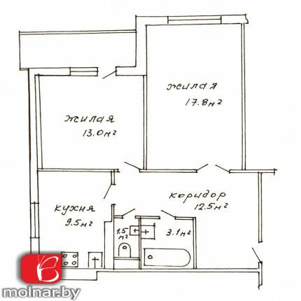 , 74  Продаётся просторная квартира в микрорайоне Серебрянка  Проспект Рокоссовского 74  Панорамный вид из окна, солнечная сторона