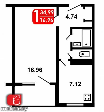 Продаётся квартира с хорошим ремонтом, мебелью и техникой! ул.Тикоцкого 34 корп.1