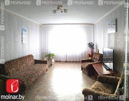 Трехкомнатная квартира в 14 км от Минска, а.г. Слобода.